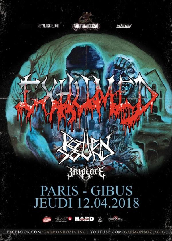 Death Grind, Actu, Concert, Garmonbozia, Gibus