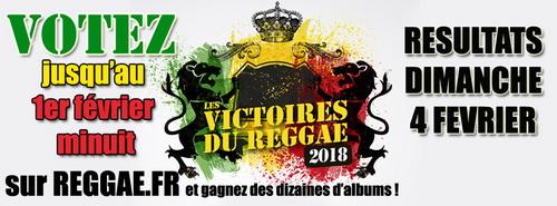 Victoires du Reggae 2018