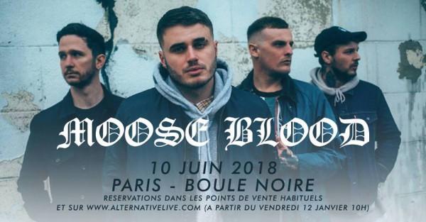 moose blood, alternative live, boule noire, paris, live, concert, tour, europe, 2018