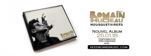 Romain Humeau, Mousquetaire #2, album, sortie, eiffel
