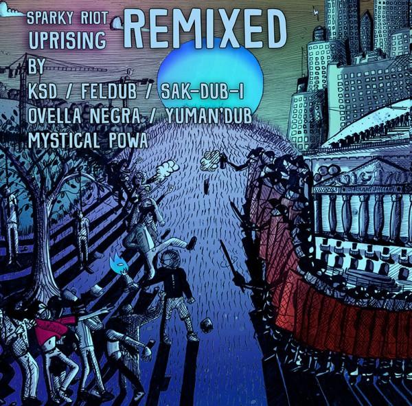 sparky riot, uprising, remix