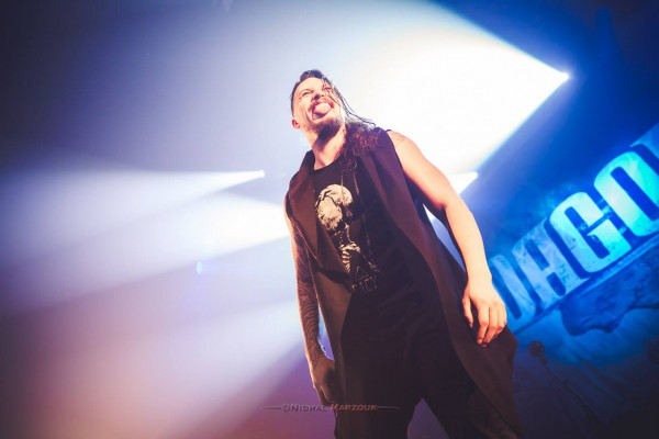Dagoba, metal, france, 106, rouen, live