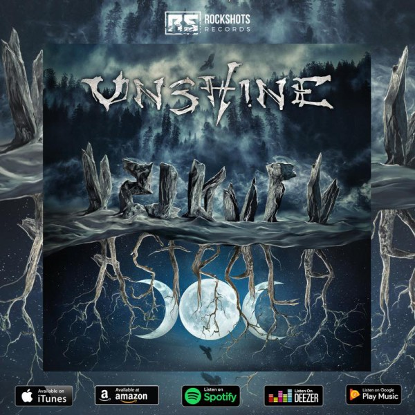 Unshine, Astrala,  Metal Gothique, Folk Metal, Druid Metal, Rockshots Records