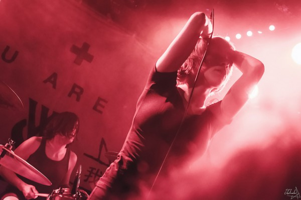 rolo tomassi, while she sleeps, alternative live, paris, europe, maroquinerie, you are we, 2017, 2018, live