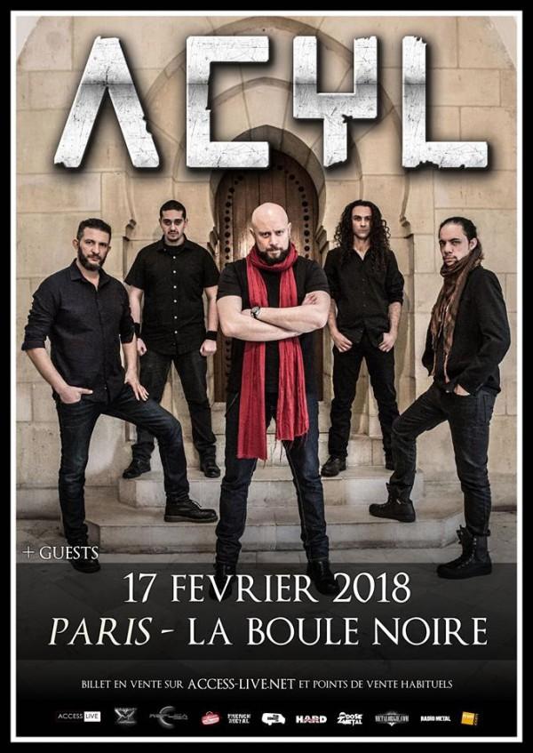 Acyl, aftermath, clip, france, video, concert, boule noire, 2018, mercurial, access live