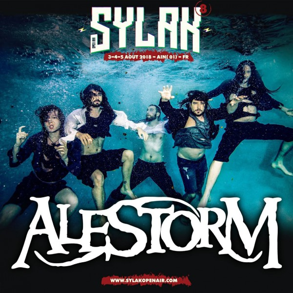 alestorm, sylak open air, sylak, 2018, metal, l'oeil du cyclone, the rock runners