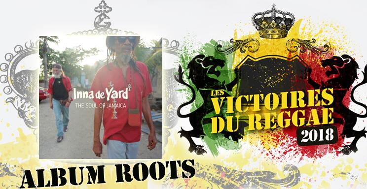 Victoires du reggae 2018 Album Roots