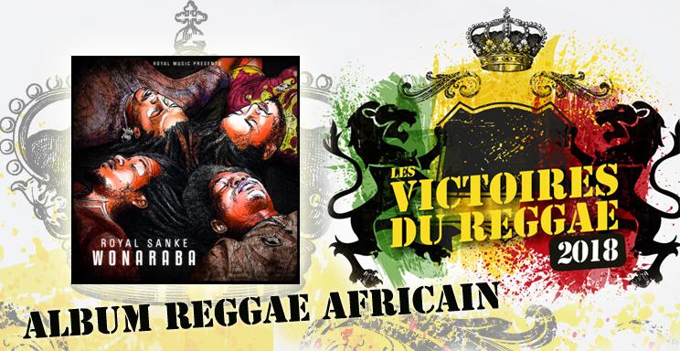 Victoires du Reggae 2018, Album Africain