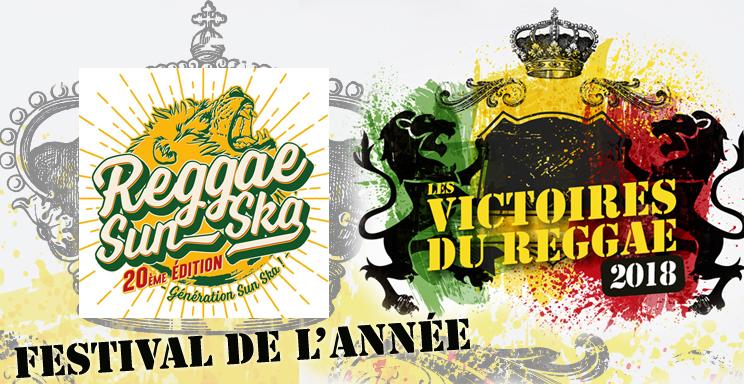 Victoires du Reggae 2018, Festival de l'année Reggae Sun Ska