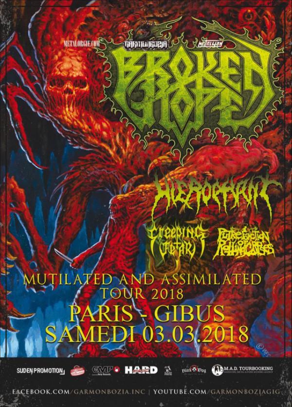 grind, death metal, gibus