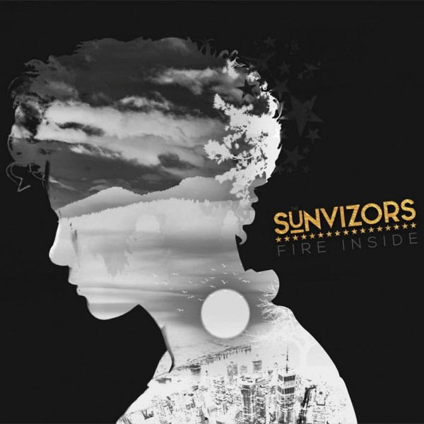 The Sunvizors - Fire Inside (2018) cover