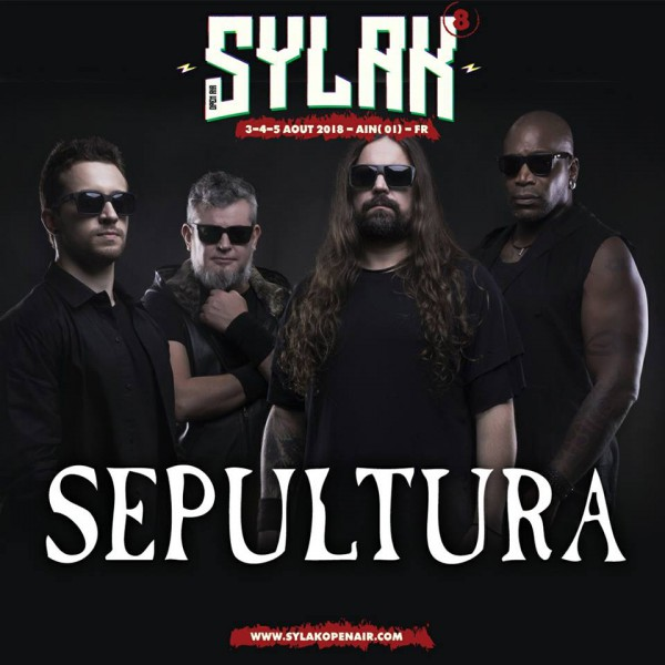 sepultura, sylak open air, sylak, 2018, metal, l the rock runners