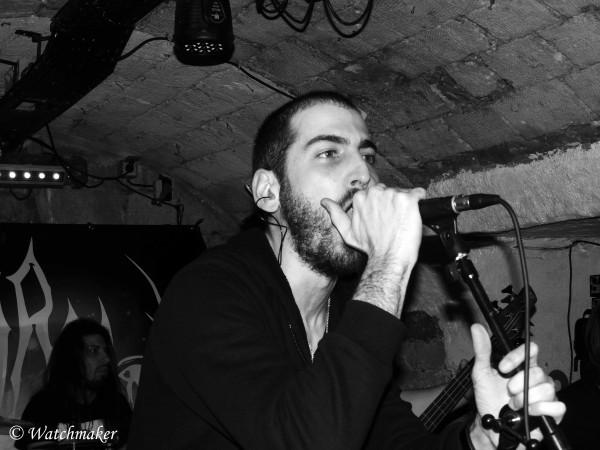 Naamah, death metal, ondes noires, Live, Klub,