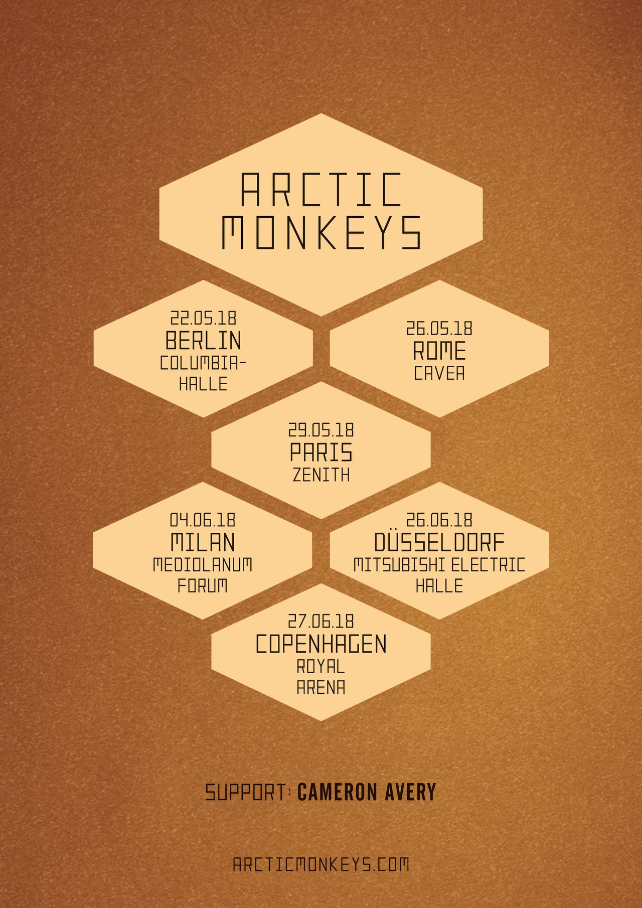 arctic monkeys, rock, 2018, lyon, paris