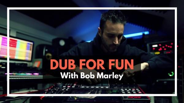 manudigital, dub for fun, bob marley