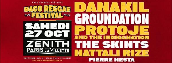 baco reggae festival, zénith, paris