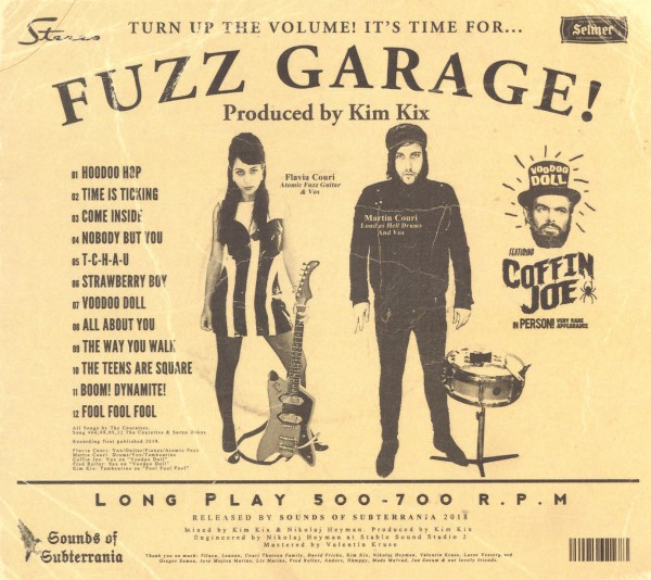 The Courettes, Flavia Couri, Martin Wild, Autoramas, Garage