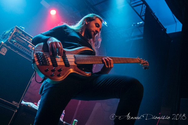 Obscura, death metal, fretless, bass, live, report, garmonbozia, paris