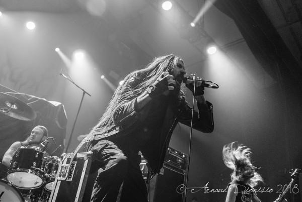 Goatwhore, metal, live, black, Elysée montmartre, report,