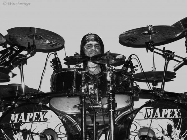 Serial Drummer, Franky Costanza, Dagoba, Blazing War Machine, live, report, black metal, indus