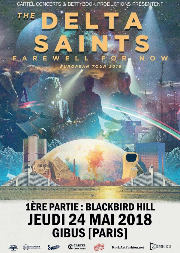The Delta Saints, Blackbird Hill, Gibus, Paris, concert
