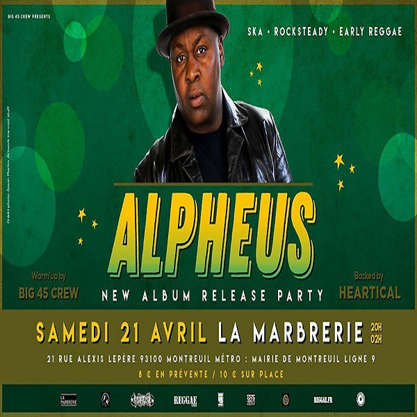 Alpheus - Release party à La Marbrerie