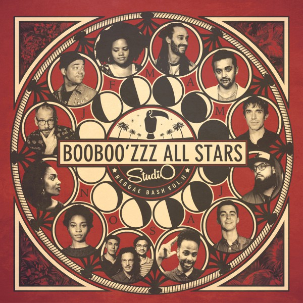 booboo'zzz all stars, studio reggae bash vol.2, taïro