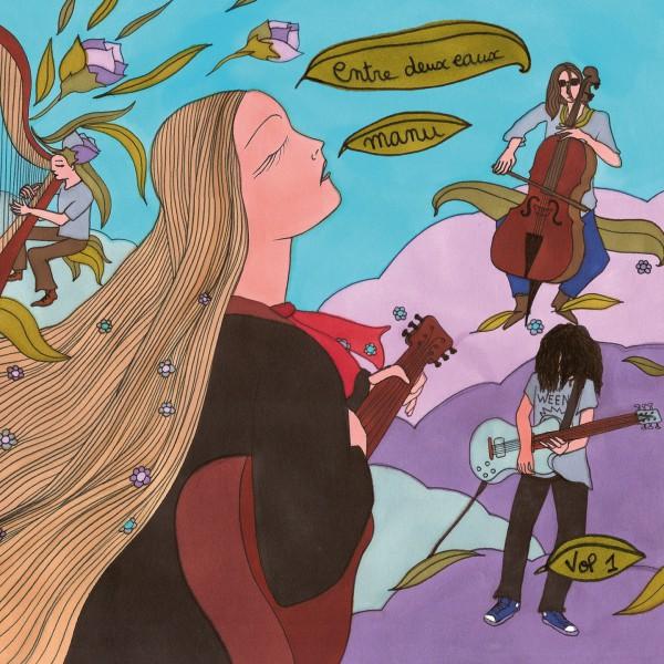 Manu, Emmanuelle Monet, Patrick Giordano, Entre Deux Eaux, album acoustique