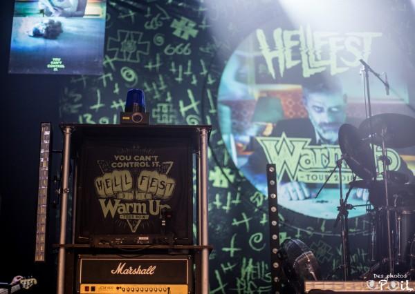 Hellfest, Warm Up Tour, 2018, Ultra vomit, Display of Power, festival