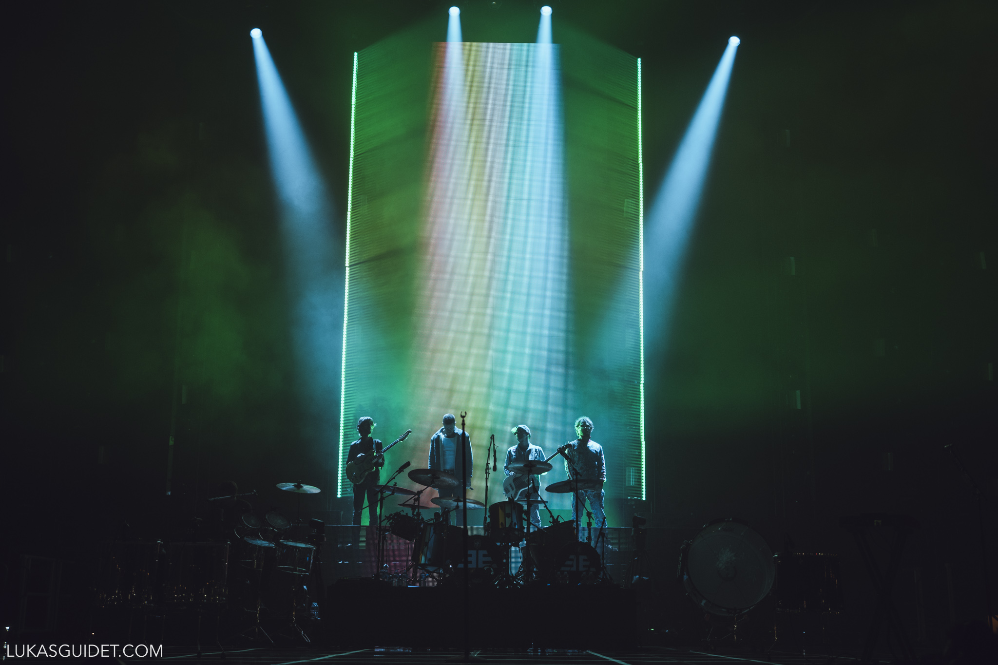 imagine dragons, lyon, 2018, concert, k.flay, rock, evolve