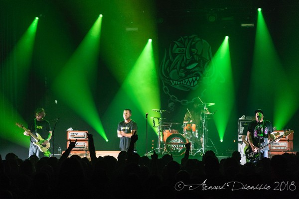 ugly kid joe, stone broken, bataclan, show, report