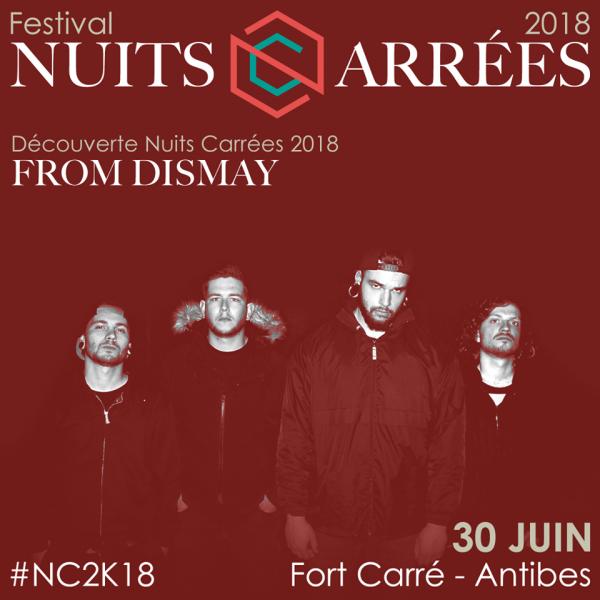 From Dismay, gagnant, Découvertes Nuits Carrées, Festival Nuits Carrées, Label Note, 2018