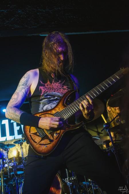 Allegaeon, paris, gibus, live, death metal, 2018, garmonbozia