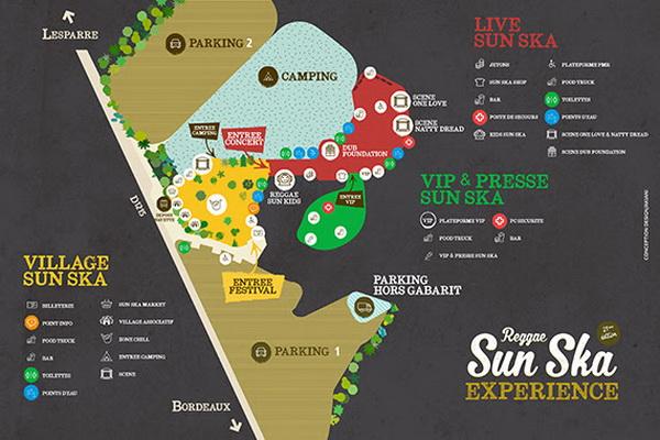 Reggae Sun Ska plan du site