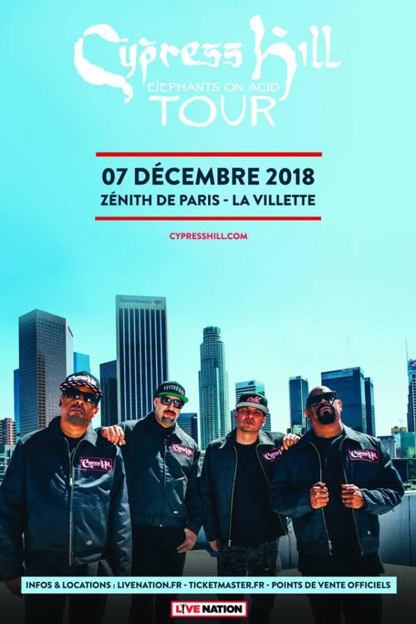 Cypress Hill au Zenith