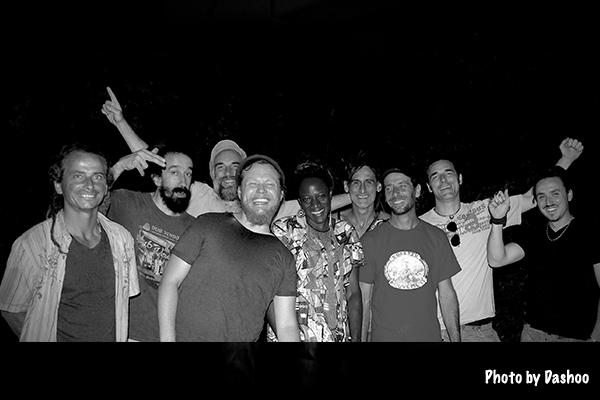 Positiv'mouvement et Ante  au Reggae to Zion