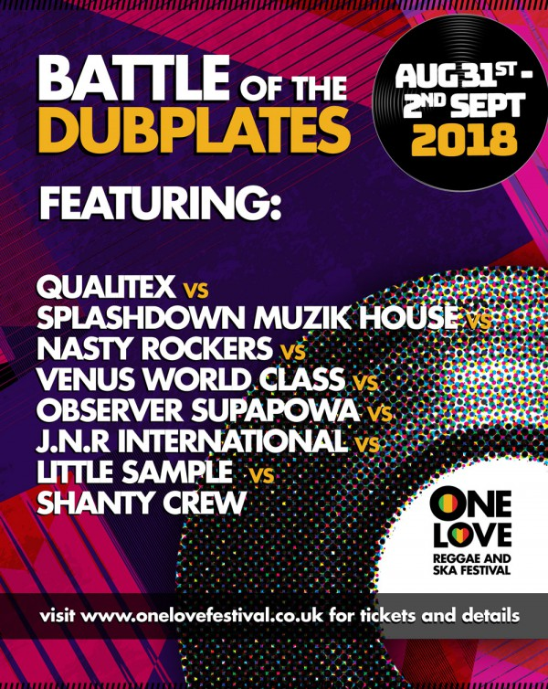 Battle of Dubplates - One Love Festival