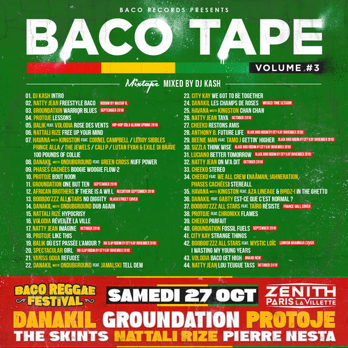 Baco Tape vol 3 cover