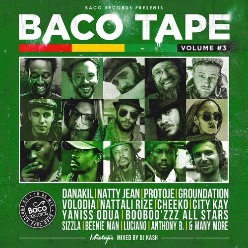 Baco Tape vol 3 cover recto