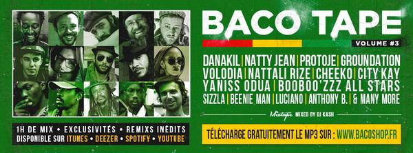 Baco Tape vol 3 bannière
