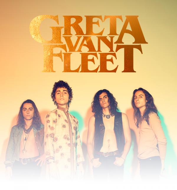 2018, single, Greta Van Fleet, When the curtains Fall,