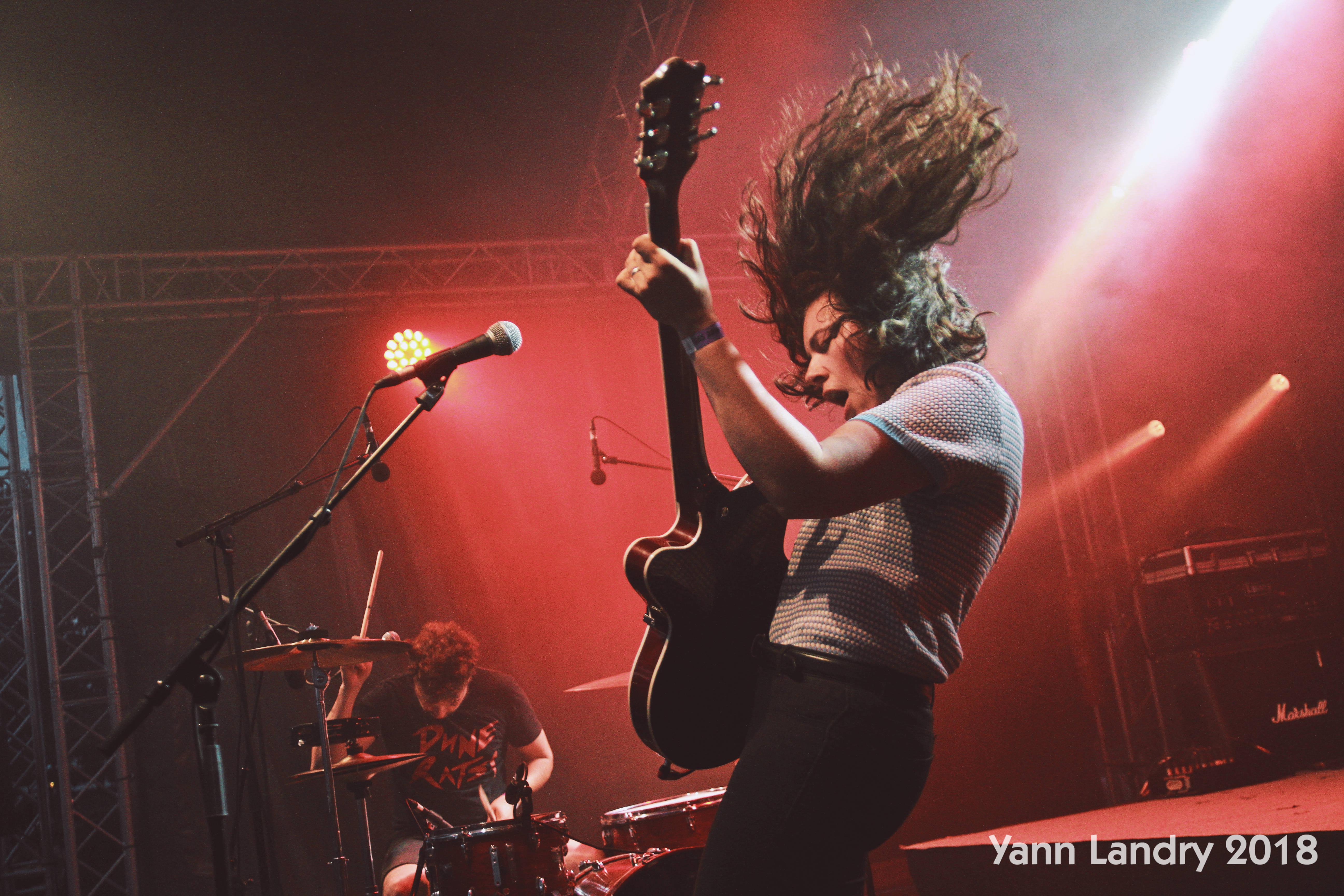 cheveux en l'air, Jack White, Popolopopopo, Yann Landry, Rock