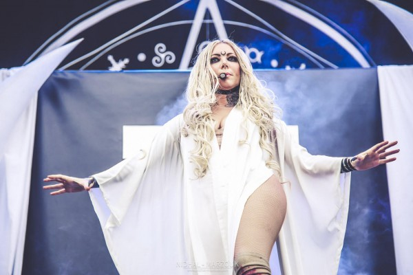 In This Moment, Hellfest, Hellfest Open Air, 2018, Maria Brink, Main Stage 1, Nidhal Marzouk