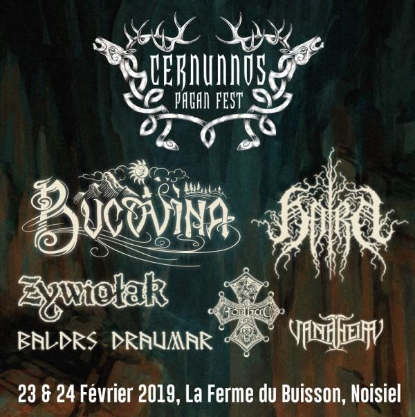 Cernunnos, Festival, Metal