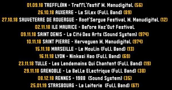 bazil, tournée, full band
