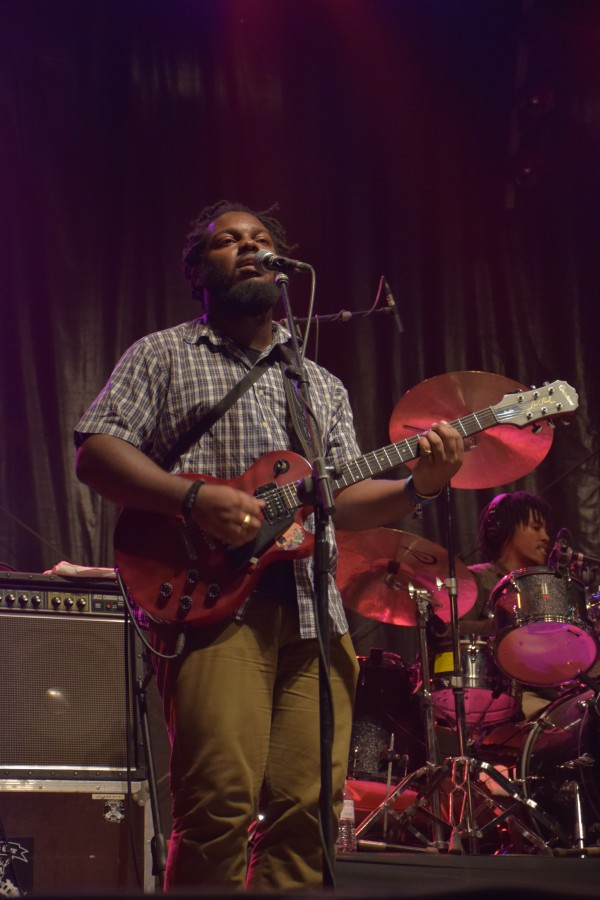 Musiciens Jah 9 au Reggae Sun Ska