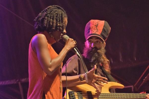 Jah 9 au Reggae Sun Ska