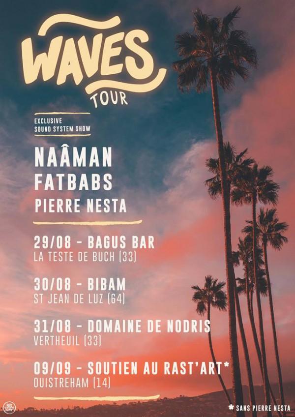 Mini tournée Waves - Fatbabs & Naâman