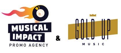 Logo Gold Up & Musical Impact