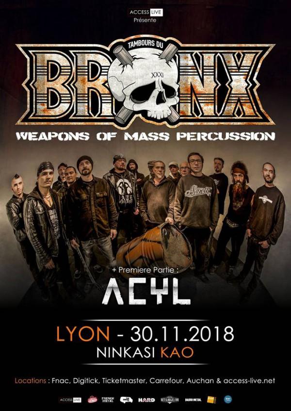 Tambours du Bronx Acyl Lyon